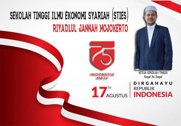 HUT RI KE-75 STIES Riyadlul Jannah